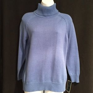 New Sweater-Petite Small-Blue